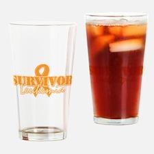 Survivor - Leukemia Pint Glass