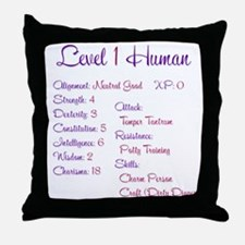 RPGirl Throw Pillow