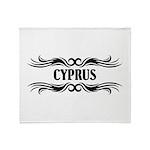 Tribal Cyprus Throw Blanket