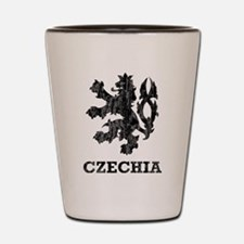 Vintage Czechia Shot Glass