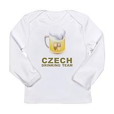Czech Drinking Team Long Sleeve Infant T-Shirt