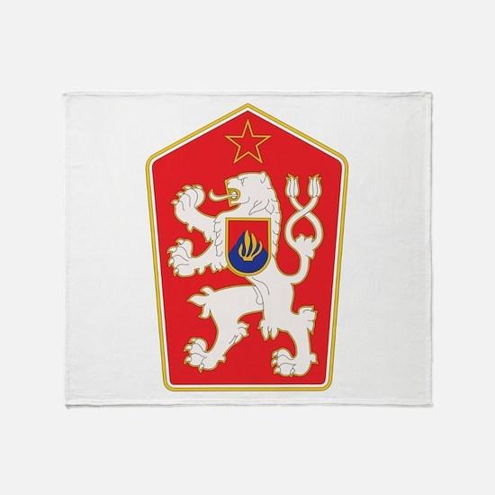 Cute Czechoslovakia Throw Blanket