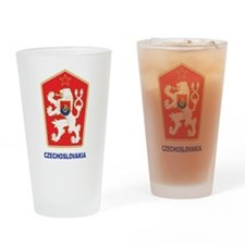 Czechoslovakia Pint Glass