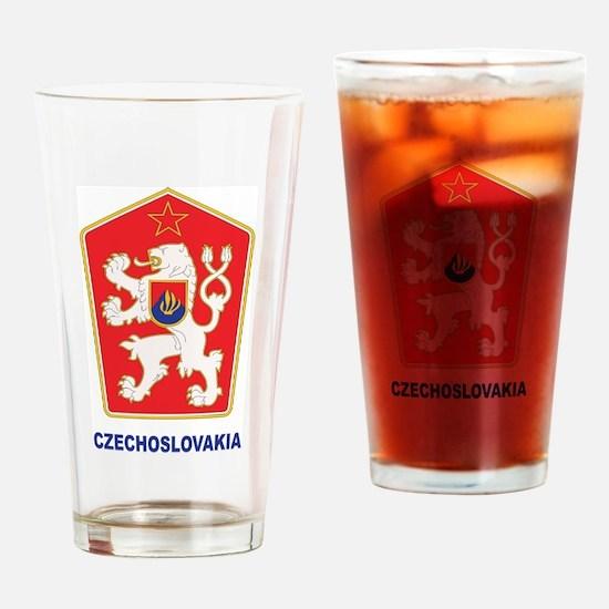 Czechoslovakia Pint Glass