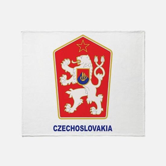 Czechoslovakia Throw Blanket