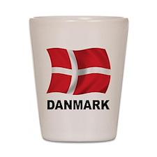 Danmark Shot Glass