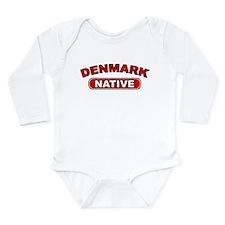 Denmark Native Long Sleeve Infant Bodysuit