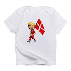 3D Denmark Infant T-Shirt