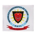 East Timor Coat Of Arms Throw Blanket
