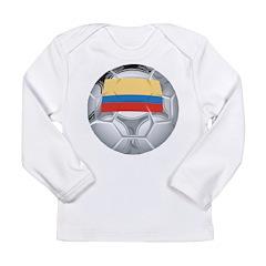 Ecuador Soccer Long Sleeve Infant T-Shirt