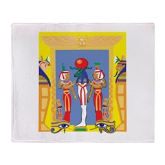 Egyptian Pharaoh Throw Blanket