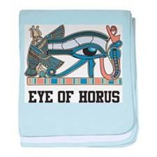 Eye Of Horus baby blanket