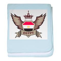 Egypt Emblem baby blanket