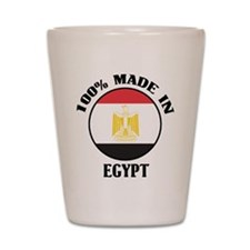 Made In Egypt Shot Glass