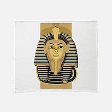 Egypt King Tut Throw Blanket