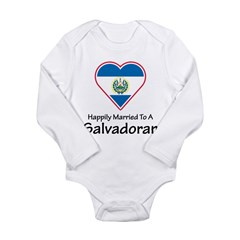Happily Married Salvadoran Long Sleeve Infant Body