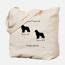 2 Newfoundlands Tote Bag