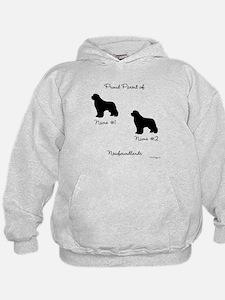 2 Newfoundlands Hoodie