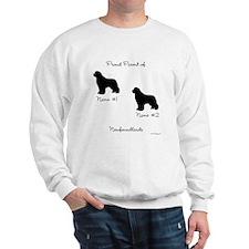 2 Newfoundlands Sweatshirt