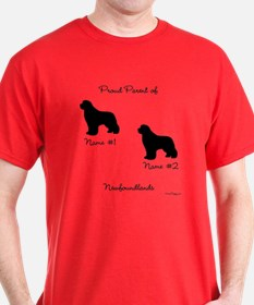 2 Newfoundlands T-Shirt