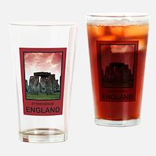 Stonehenge England Pint Glass