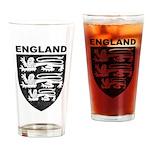 Vintage England Pint Glass