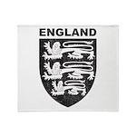 Vintage England Throw Blanket