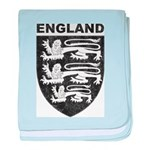 Vintage England baby blanket