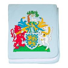 Berkshire Coat Of Arms baby blanket