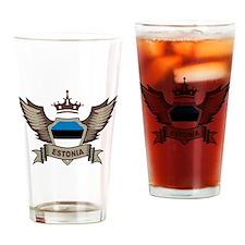 Estonia Emblem Pint Glass
