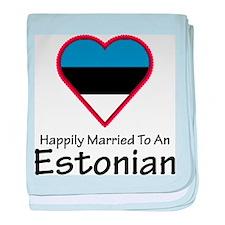 Happily Married Estonian baby blanket