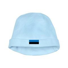 Estonia Flag baby hat