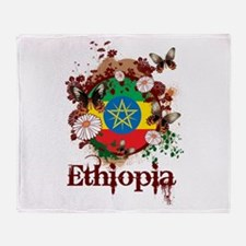 Butterfly Ethiopia Throw Blanket