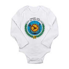 Ethiopia Coat Of Arms 1975 Long Sleeve Infant Body