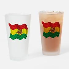 Wavy Ethiopia Flag Pint Glass