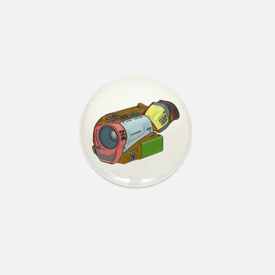 Designer Camcorder Mini Button