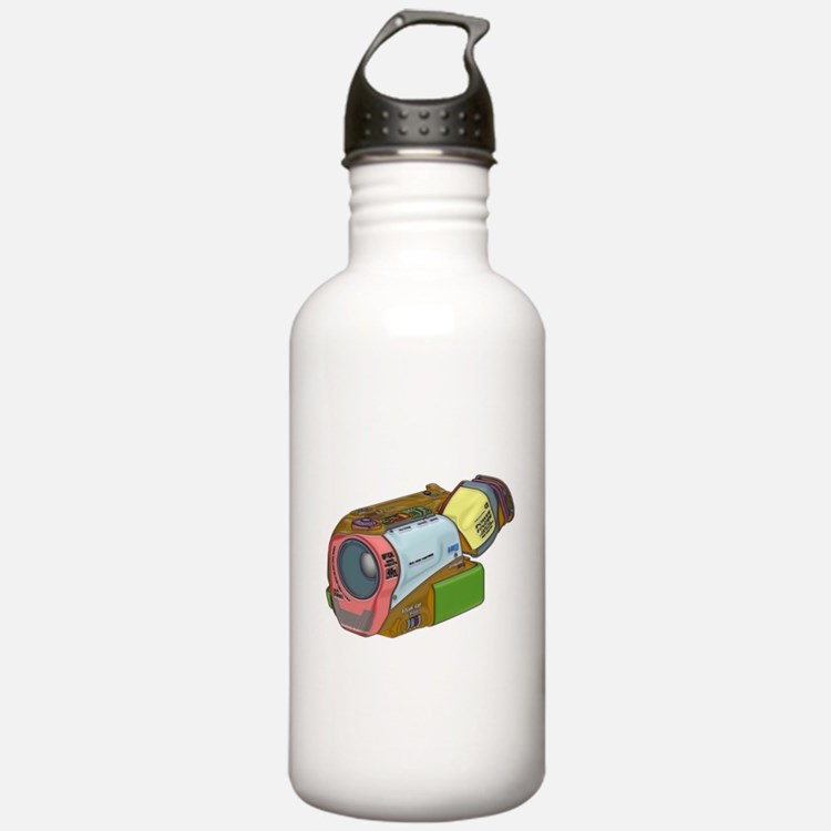 Designer Camcorder Water Bottle