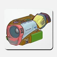 Designer Camcorder Mousepad