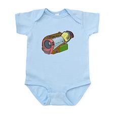 Designer Camcorder Infant Bodysuit