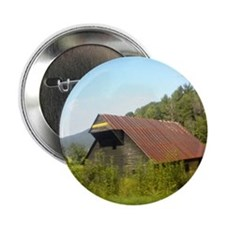 "Rustic Buliding 2.25"" Button (10 pack)"