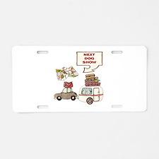 Next Dog Show Aluminum License Plate