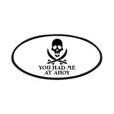 Ahoy Pirate Patches