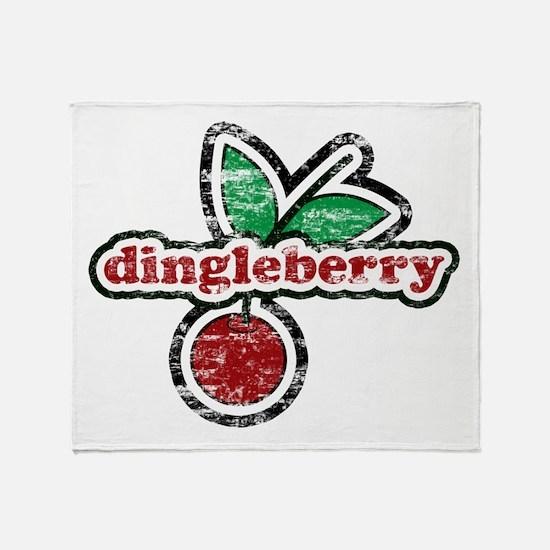 Dingleberry Throw Blanket