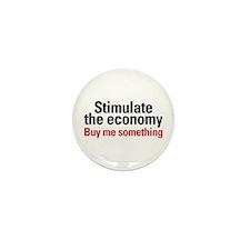 Stimulate The Economy Mini Button (10 pack)