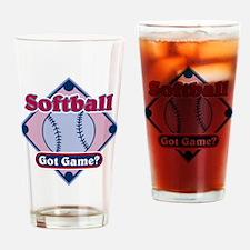 Softball Got Game? Pint Glass