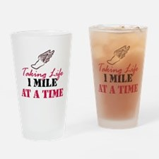 Taking Life 1 mile Pint Glass