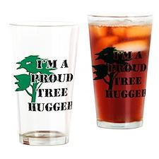 Proud Tree Hugger Pint Glass