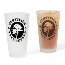 Certified Tree Hugger Pint Glass