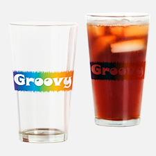 Groovy cl block Pint Glass