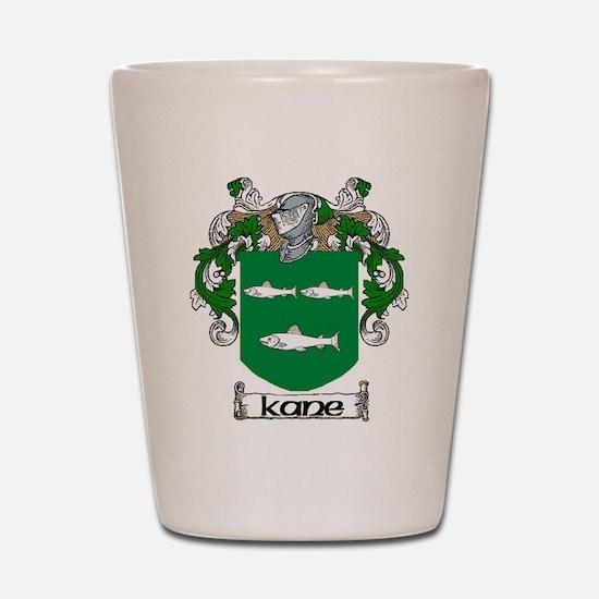 Kane Coat of Arms Shot Glass
